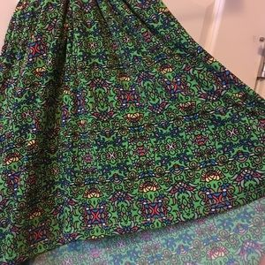 Lularoe Maxi skirt, tags still attached.